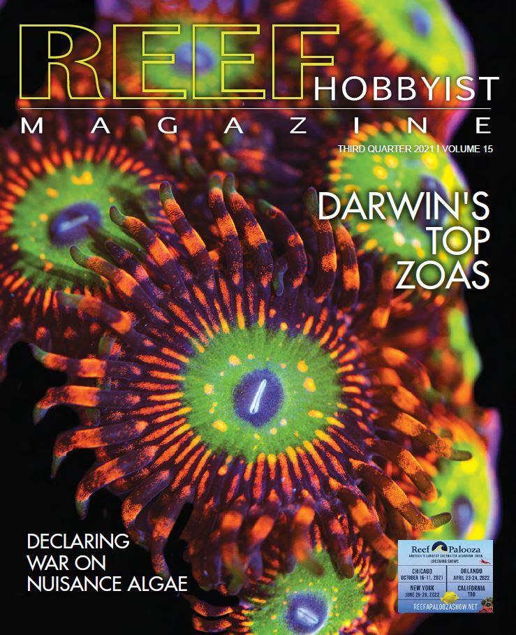Reef Hobbyist Magazine terzo trimestre 2021 - disponibile gratis per tutti