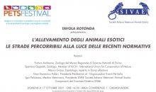 Nuove normative e allevamento animali esotici: parliamone al PetsFestival